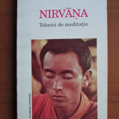 NIRVANA TEHNICI DE MEDITATIE