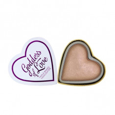 Iluminator Makeup Revolution I Heart Makeup Blushing Hearts Baked Highlighter Goddess Of Faith 10g, I Heart Revolution