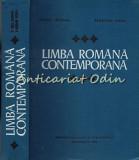 Limba Romana Contemporana - Iorgu Iordan, Vladimir Robu - Tiraj: 7330 Exemplare