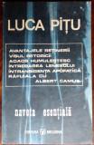 LUCA PITU - NAVETA ESENTIALA (volum de debut, 1991)