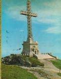 CPI B13912 CARTE POSTALA - MUNTII BUCEGI. MONUMENTUL EROILOR, CARAIMAN, CRUCEA