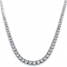 Colier Borealy Small Diamonds Tennis Classic Half