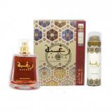 RAGHBA Lattafa set, Apa de parfum, 100 ml, Parfum Arabesc Oriental