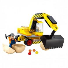 Set cuburi Lego,actual investing, model excavator, 176 piese