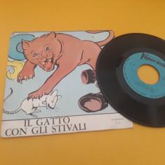 VINIL IL GATTO CON GLI STIVALI  SERIES FIABE NR..8 DISC FONOCROM STARE EX
