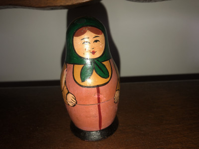 Papusi matrosca,matrioska,rusesti din lemn pictat foto