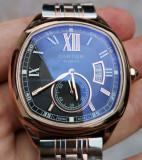 Ceas Cartier Calibre Automatic Aur Roz 44 mm, Mecanic-Automatic