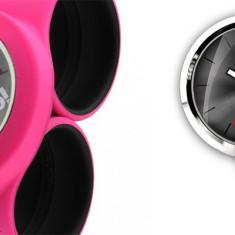 Curea mare pentru ceas - B! Color - Pink / Black | Bill's Watches