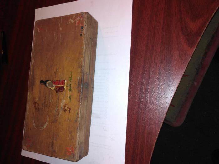 CY - Penar scolar / elevi din lemn perioada comunista Romania