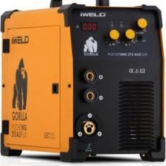 Aparat sudura Gorilla PocketMIG 215 Iweld - MMA/MIG tip invertor