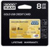Stick USB GOODRAM GOLD CREDIT CARD 8GB