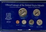 British Virgin Islands 1974 - Set monede UNC