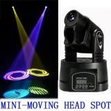 Proiector joc de lumini Moveled Led Mini Moving Head