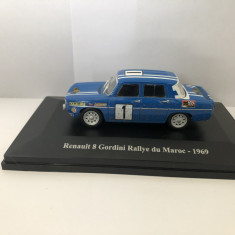 Macheta Eligor Renault 8 Gordini Rallye du Maroc 1969 Dacia 1100 1/43