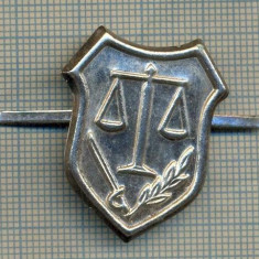 Y 1704 INSIGNA - MILITARA -SEMN DE ARMA -JUSTITIE MILITARA  -PENTRU COLECTIONARI