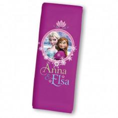 Protectie centura de siguranta Frozen Disney Eurasia, 20 x 8 cm, sistem cu scai
