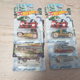 Set 6 masinute hot wheels Holiday Hot Rods, 1:64