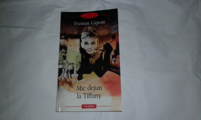 TRUMAN CAPOTE - MIC DEJUN LA TIFFANY foto
