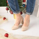 Pantofi De Dama Dosen Bej 39 EU Bej