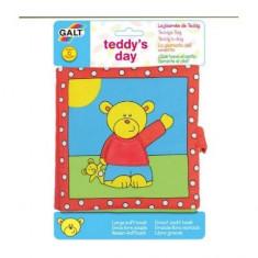 Carticica moale pentru bebelusi Galt – Teddy's Day