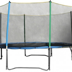 Trambulina cu plasa de protectie si scarita inSPORTline Top Jump 457 cm