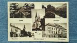 67 - Marmarossziget Sighetu Marmației / Mozaic vedere multipla , carte postala, Circulata, Fotografie