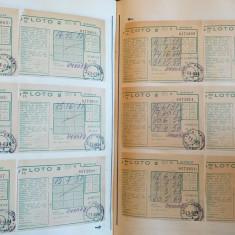Lot imens bilete Loto si Loto 2- 1978
