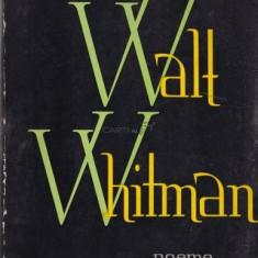 Walt Whitman - Poeme
