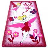 Covor copilăresc Happy C224 roz Zana, 240x330 cm