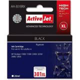 Consumabil ActiveJet Cartus compatibil HP-301XL HP CH563EE Negru