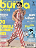 Burda revista de moda insert in limba romana 60 modele 07/1994 (croitorie)