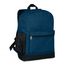 Rucsac anti-furt, 600D poliester, Everestus, RU16, albastru, saculet de calatorie si eticheta bagaj incluse