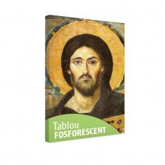 Tablou fosforescent Iisus cu biblia 20x30 cm