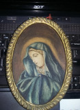 Icoana veche Originala PICTATA,icoana pictata superba de perete,T.Gratuit
