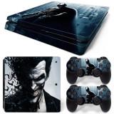 Skin / Sticker BATMAN / JOKER Playstation 4 PS4 SLIM