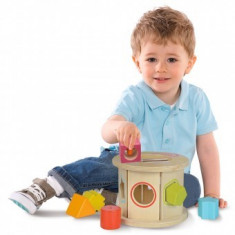 Jucarie din lemn cu sortator copii 1+ an Role Stacking