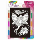 Set creatie pictura pe catifea, Little Fairy