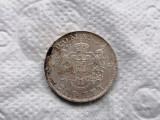 Romania 200 lei 1942 argint xf/aunc