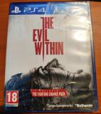 The Evil Within, PS4, original și sigilat, alte sute de jocuri