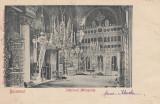 Carte Postala Bucuresti - Interior Mitropolie, Circulata, Printata
