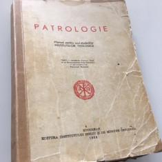 Cumpara ieftin PR IOAN G COMAN, PATROLOGIE PT UZUL INSTITUTELOR TEOLOGICE-SUB PF JUSTINIAN 1956
