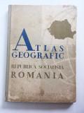 Atlas geografic Republica Socialista Romania 1965