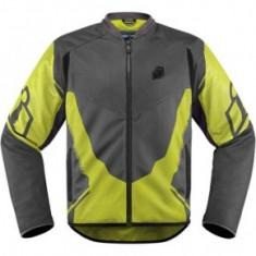 Geaca moto textil Icon Anthem 2 culoare gri/verde florescent marime M Cod Produs: MX_NEW 28203385PE
