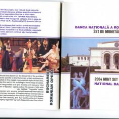 Romania-SET DE MONETARIE 2004, dedicat Operei Romane din Bucuresti