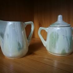 Serviciu vechi pentru ceai. Obiecte romanesti vechi portelan.