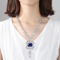 Colier Borealy Medallion Ocean Color