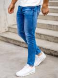 Blugi bleumarin bărbati skinny fit Bolf KX511