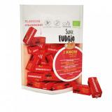 Cumpara ieftin Caramele bio cu aroma de capsuni 150g