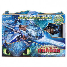 Jucarie Train Your Dragon Fire Breathing Toothless