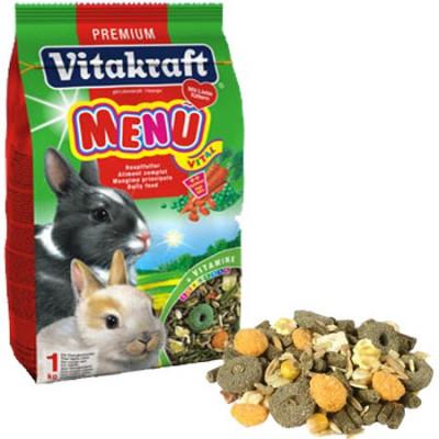 Meniu iepuri, 500gr, Vitakraft foto